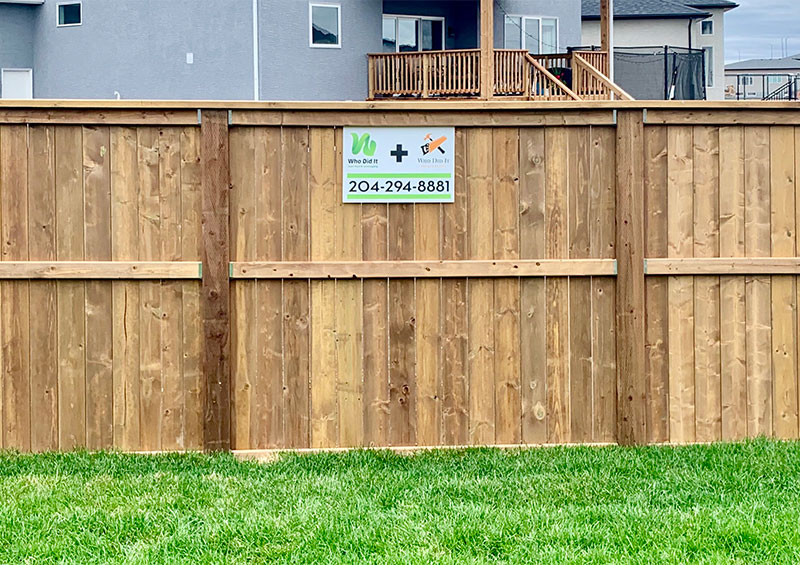 wood fences winnipeg